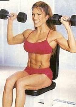 shoulder press manubri