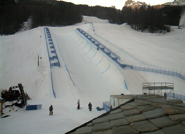 half pipe olimpico